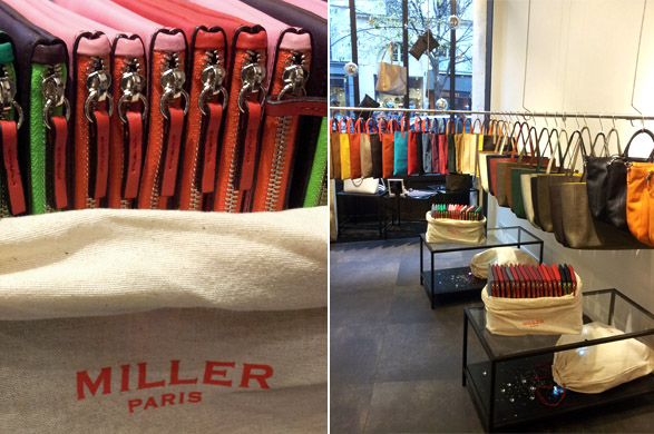 Pop-up store sacs MILLER